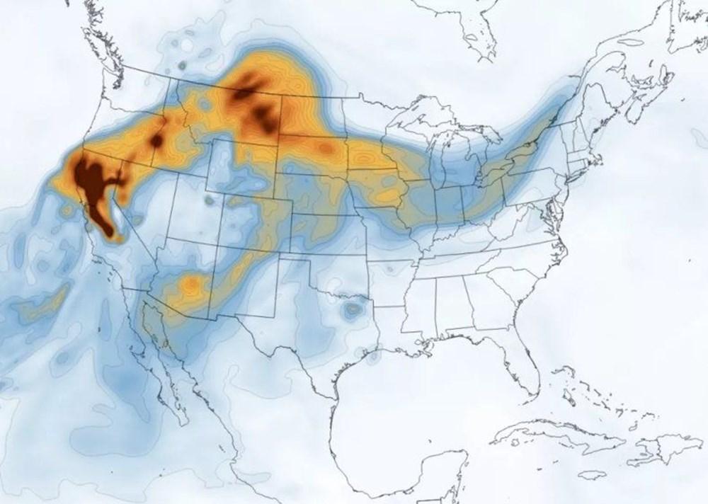 NASA Trump'ın 'büyük felaket' ilan ettiği yangınların uydu görüntülerini yayınladı - 2