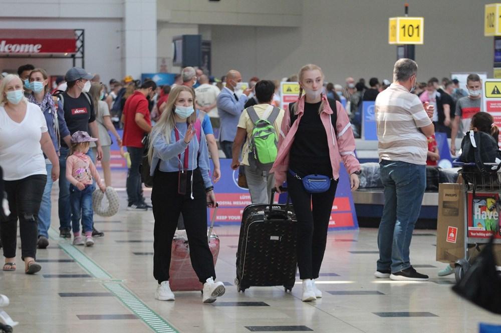 Kapılar açıldı, Ruslar akın akın geliyorlar! Rusya'dan hava trafiği yüzde 45 arttı - 20