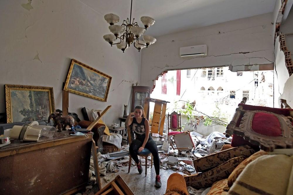Harabelerin ortasındaki Lübnan halkı: Binlerce kişi evsiz - 5