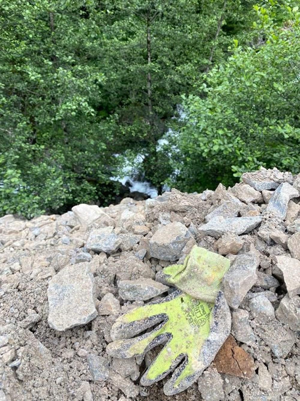 Sümela'da restorasyon atıklarını dereye döktüler - 7