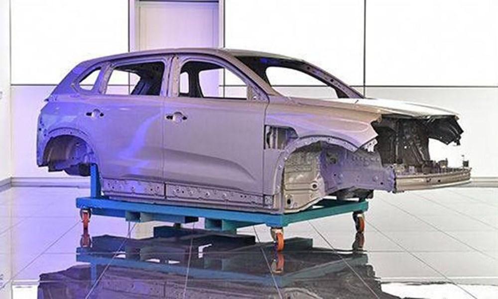 Yerli otomobilin montajından ilk görüntü - 7