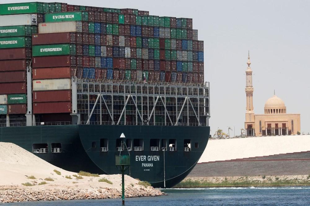 Süveyş Kanalı'nı tıkayan gemi 108 gün sonra serbest - 8