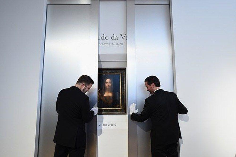 Dünyanın en pahalı tablosu olan Leonardo da Vinci'nin Salvator Mundi'si NFT olarak satışta - 3