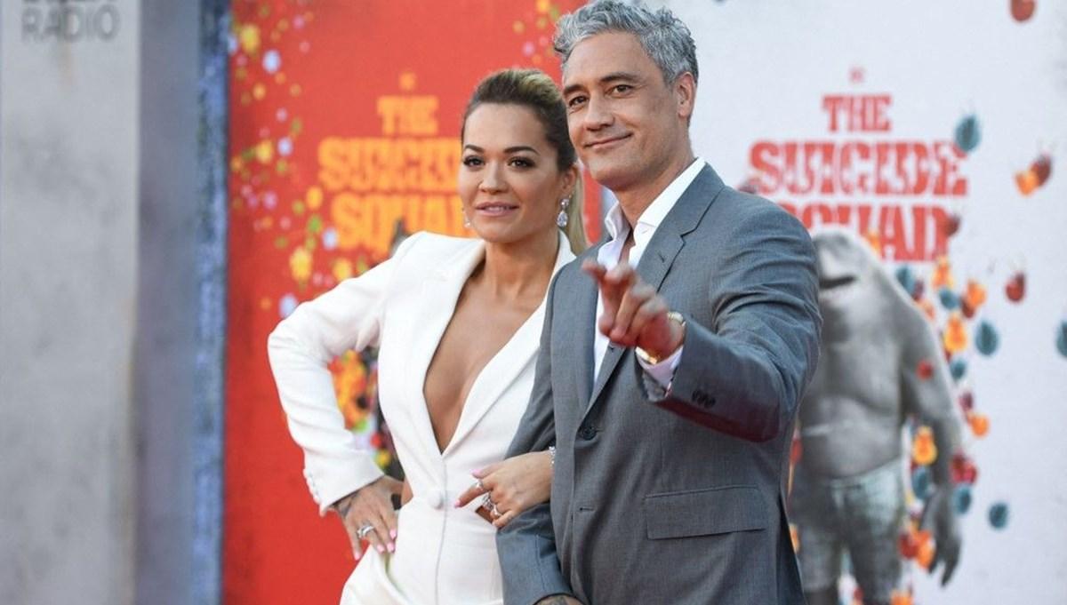 Rita Ora ve Taika Waititi ilk kez birlikte kırmızı halıda