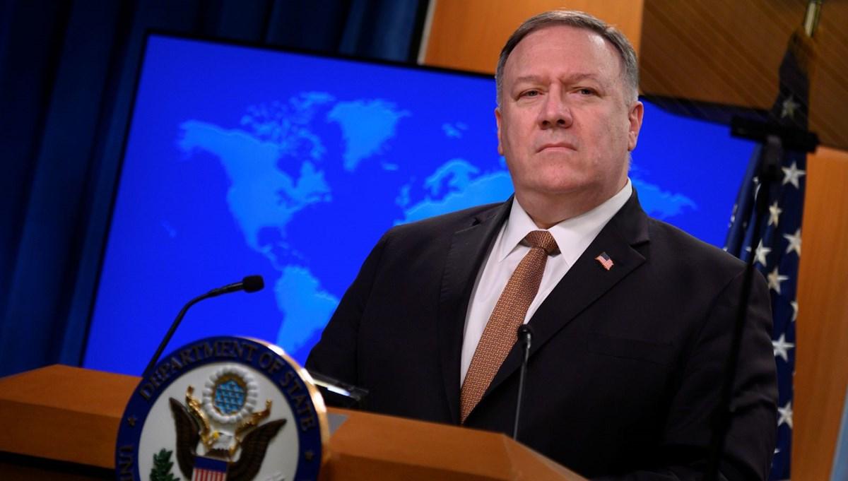 ABD Dışişleri Bakanı Pompeo Türkiye'yi ziyaret edecek
