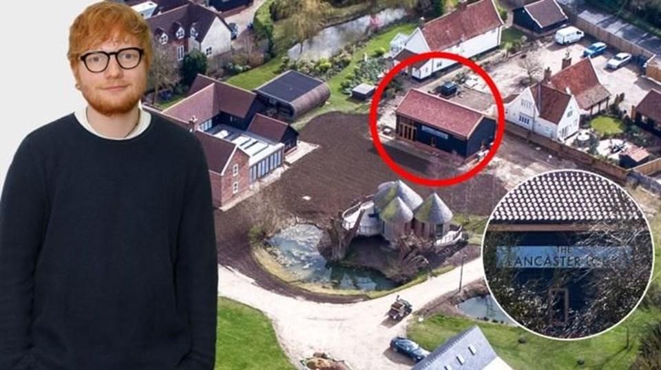 Ed Sheeran'ın mini köyünün değeri 3.7 milyon sterlin olarak gösteriliyor