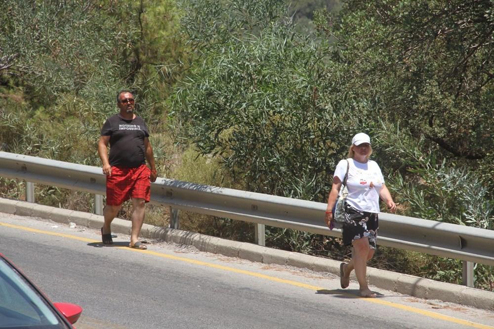 Ölüdeniz'e ulaşmak için kilometrelerce yürüdüler - 6