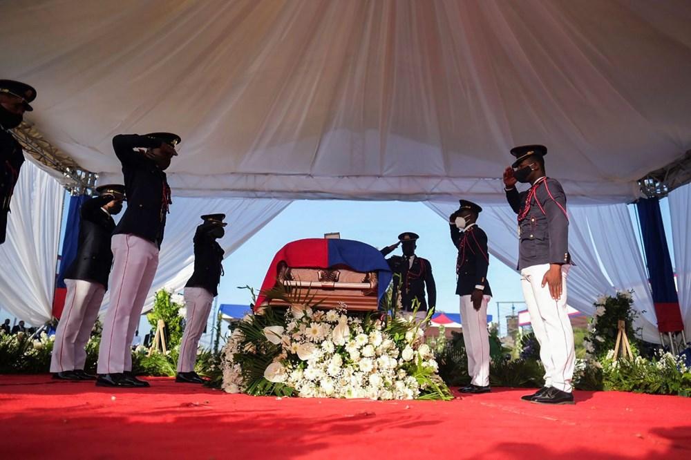 Suikasta uğrayan Haiti Devlet Başkanı'na cenaze töreni düzenlendi - 11