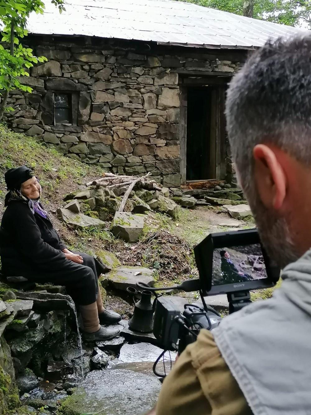 Yaylada tek başına yaşayan 'Robinson Nine'nin hayatı belgeselde - 11