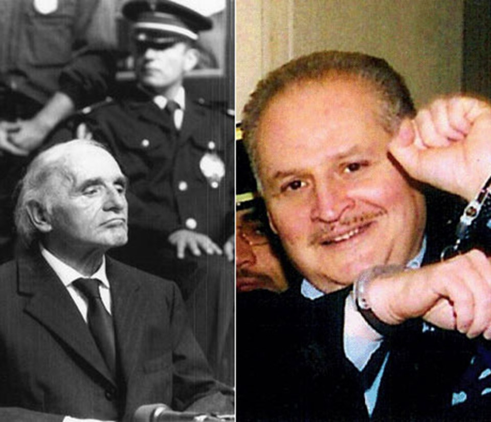 Klaus Barbie ve Çakal Carlos.