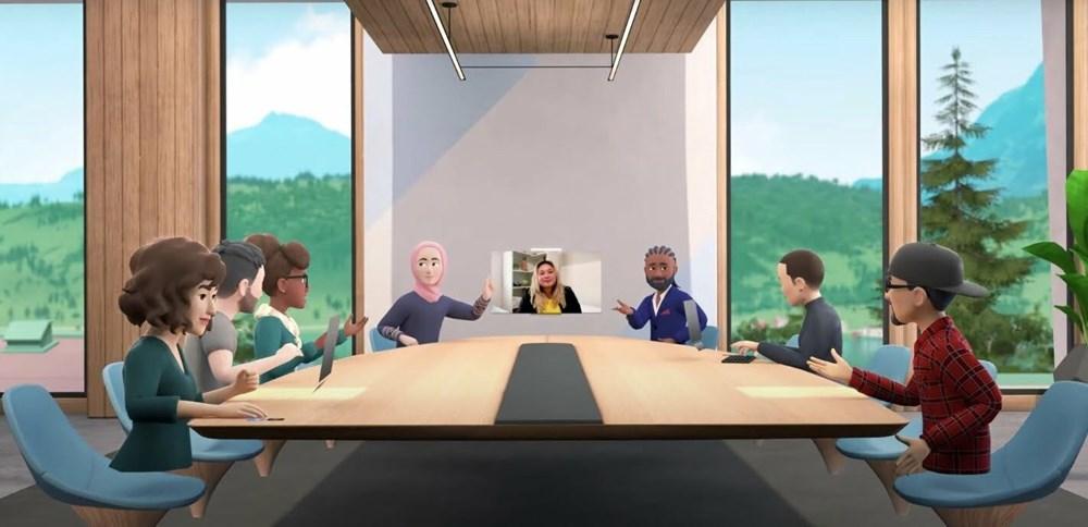 """Facebook, """"Horizon Workrooms"""" adlı sanal ofis uygulamasını tanıttı - 5"""