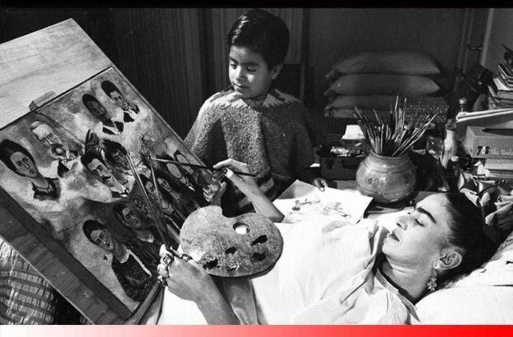 Ressam Frida Kahlo kimdir? (Tahta Bacak Frida Kahlo'nun hayatı) - 6