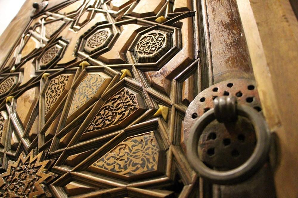 Sultan II. Bayezid Camisi'nin penceresinde Kayı sembolleri bulundu: Dünyada tek örnek - 2