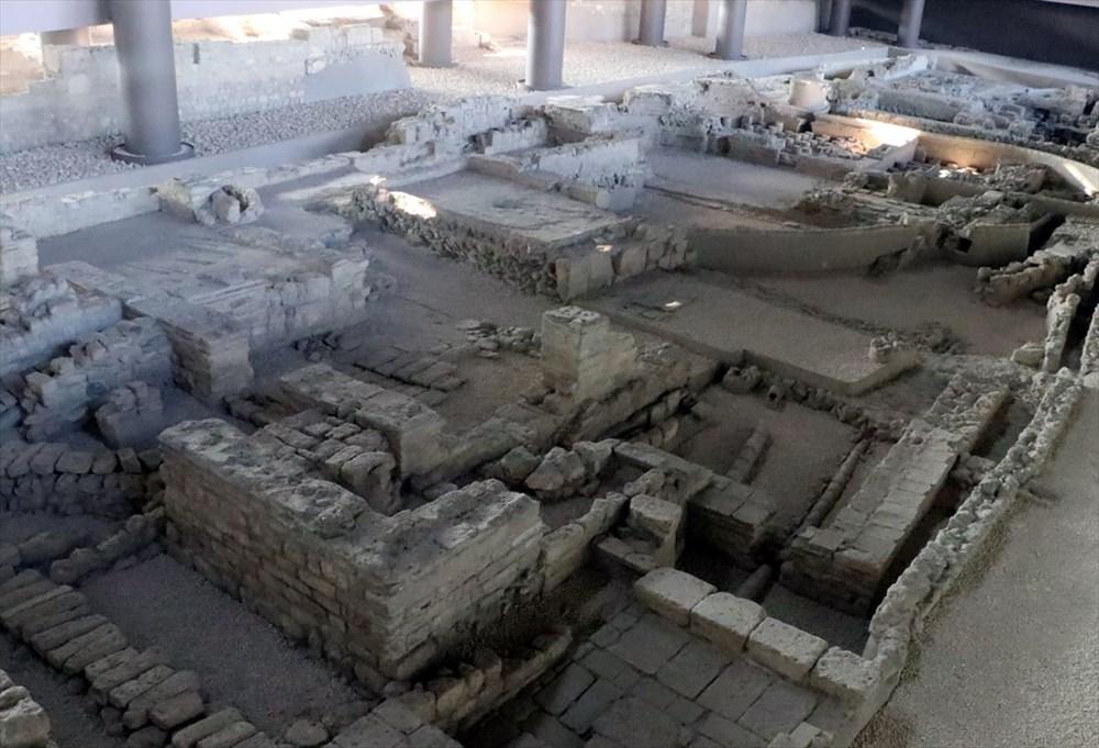 Hatay'da beş dönemin izlerini taşıyan Necmi Asfuroğlu Arkeoloji Müzesi ziyaretçilerini zaman yolculuğuna çıkarıyor - 26
