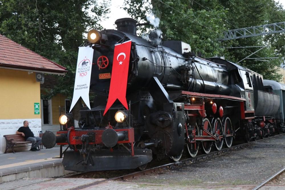 Atatürk'ü 100 yıl önce Pozantı'ya getiren buharlı kara tren yeniden Pozantı'da - 5