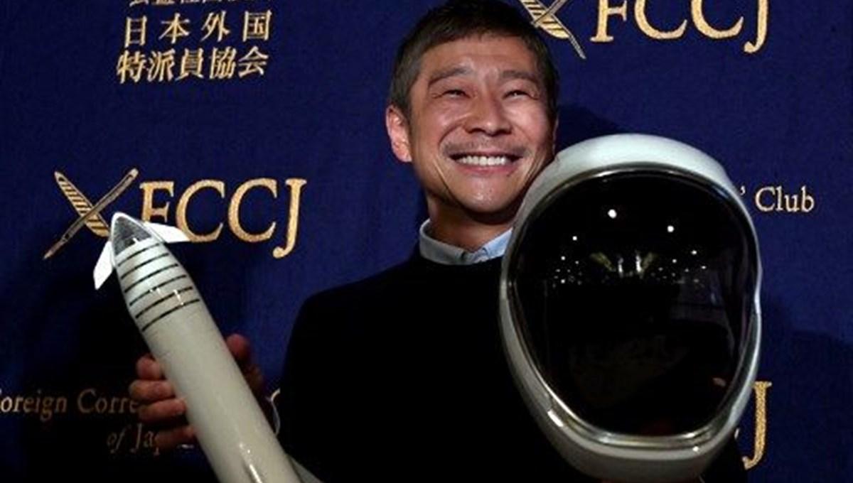 Milyarder Japon uzay için kesenin ağzını açtı