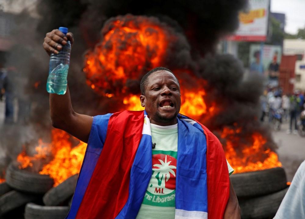 Haiti'de hükümet karşıtı protestolara sert müdahale - 4
