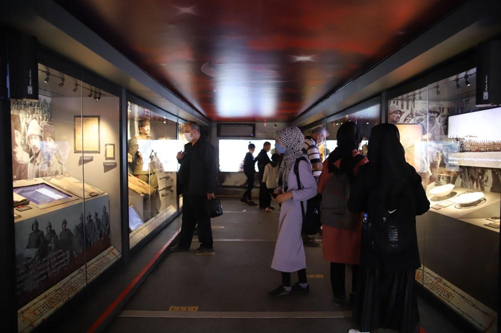 Çanakkale Savaşları Mobil Müzesi'nin 40'ıncı durağı Elazığ oldu - 7