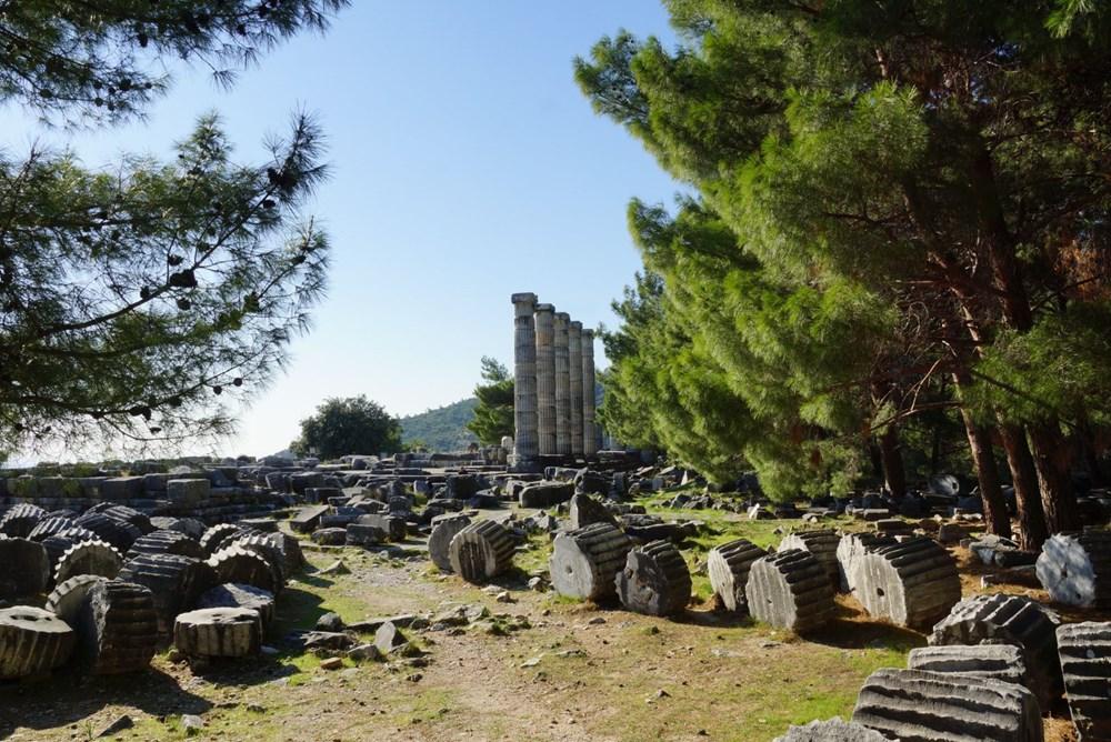 M.Ö. 4.yüzyılda kurulan ilk planlı şehir Priene - 7
