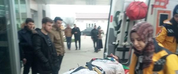 Amatör küme maçında saha karıştı, iki futbolcu hastanelik oldu