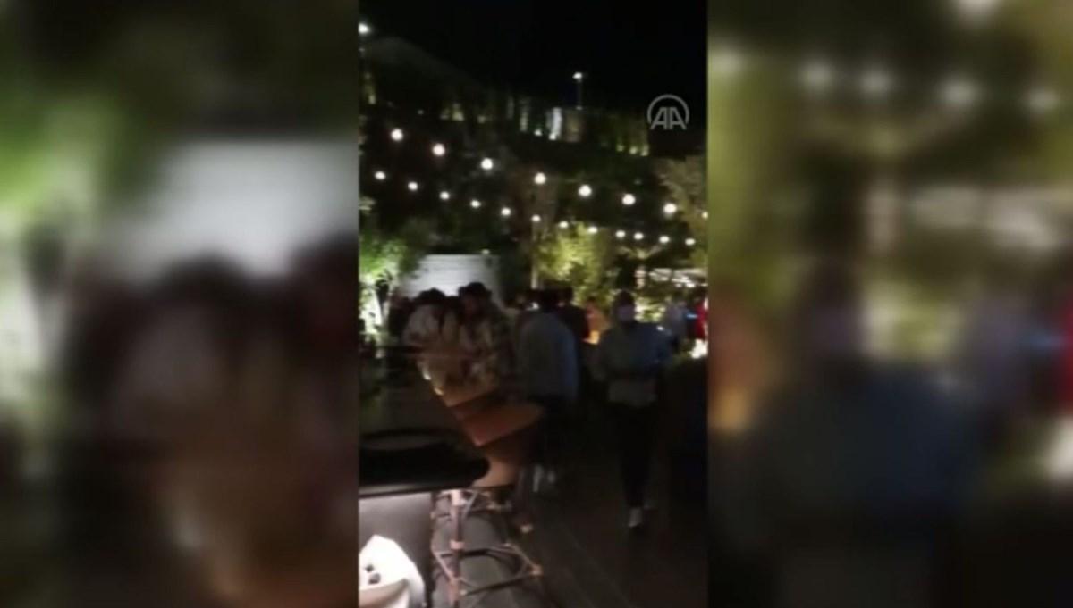 Bodrum'da eğlence düzenlenen otel kapatıldı