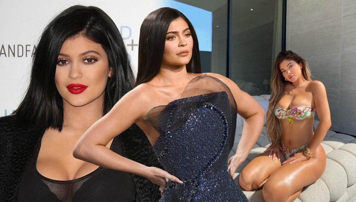 Kylie Jenner bikini işine giriyor