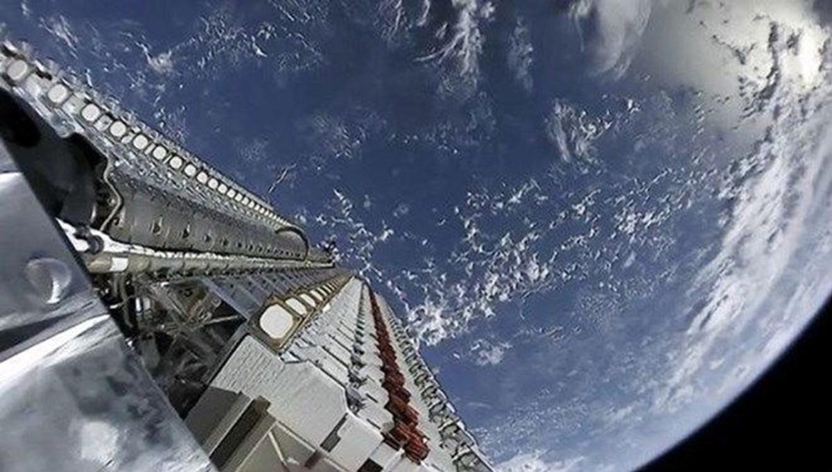 Elon Musk duyurdu:SpaceX yörüngeye 60 uydu daha gönderdi