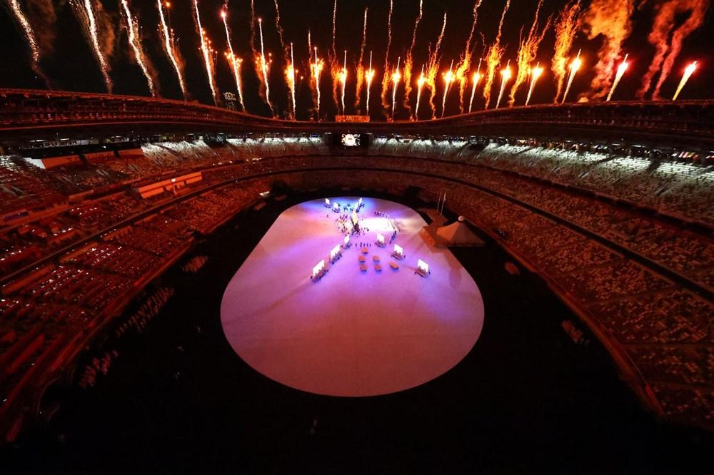2020 Tokyo Olimpiyatları görkemli açılış töreniyle başladı - 42