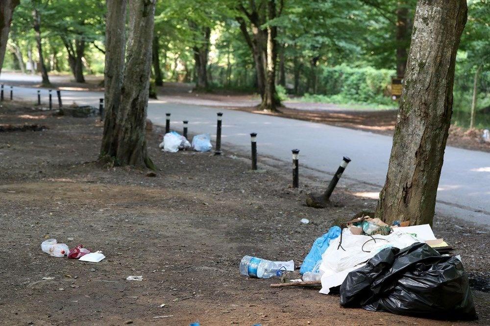 Belgrad Ormanı'nda bitmeyen vandallık - 9