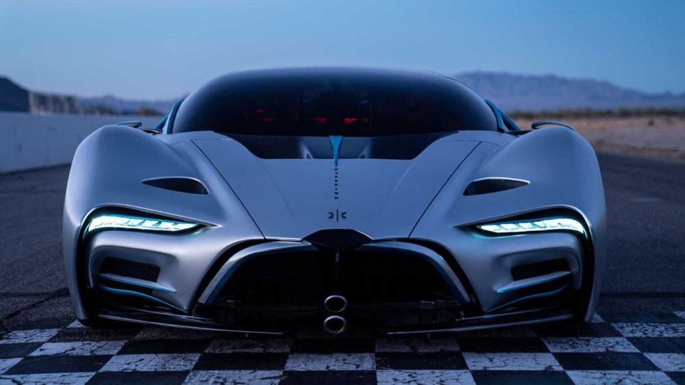 Hidrojen yakıtlı süper otomobil: Hyperion XP-1 - 2