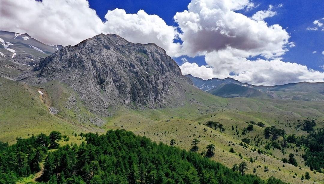 Konya'nın 'yayla cenneti' Anamas Dağı