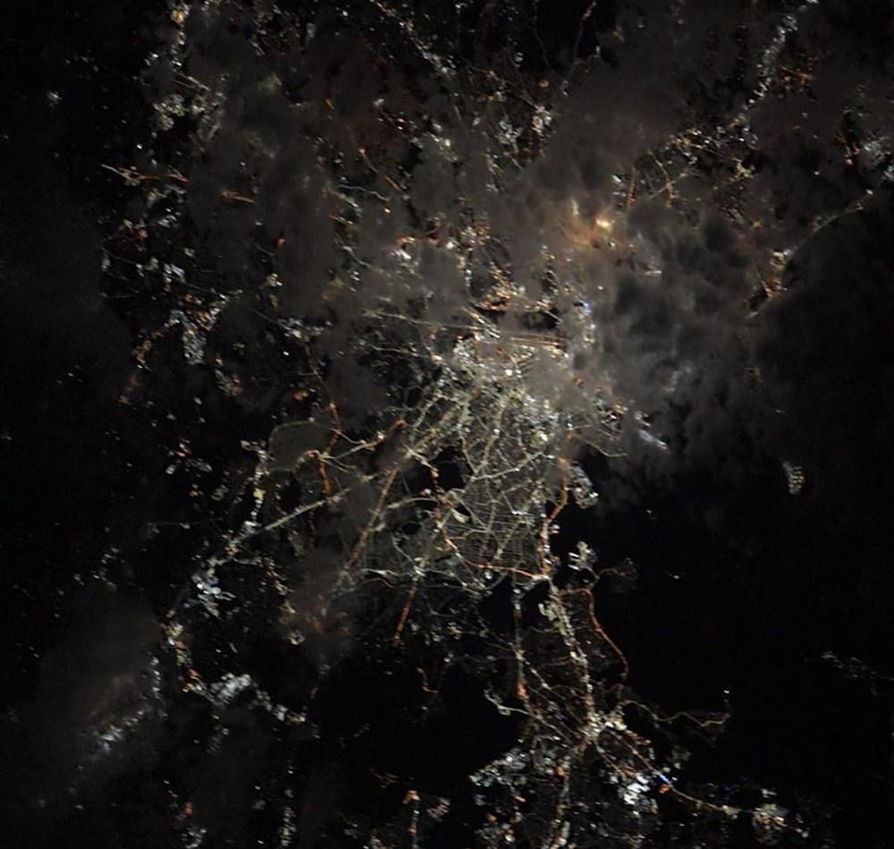 NASA Ankara'dan fotoğraf paylaştı (Astronotların gözünden gezegenimiz) - 4