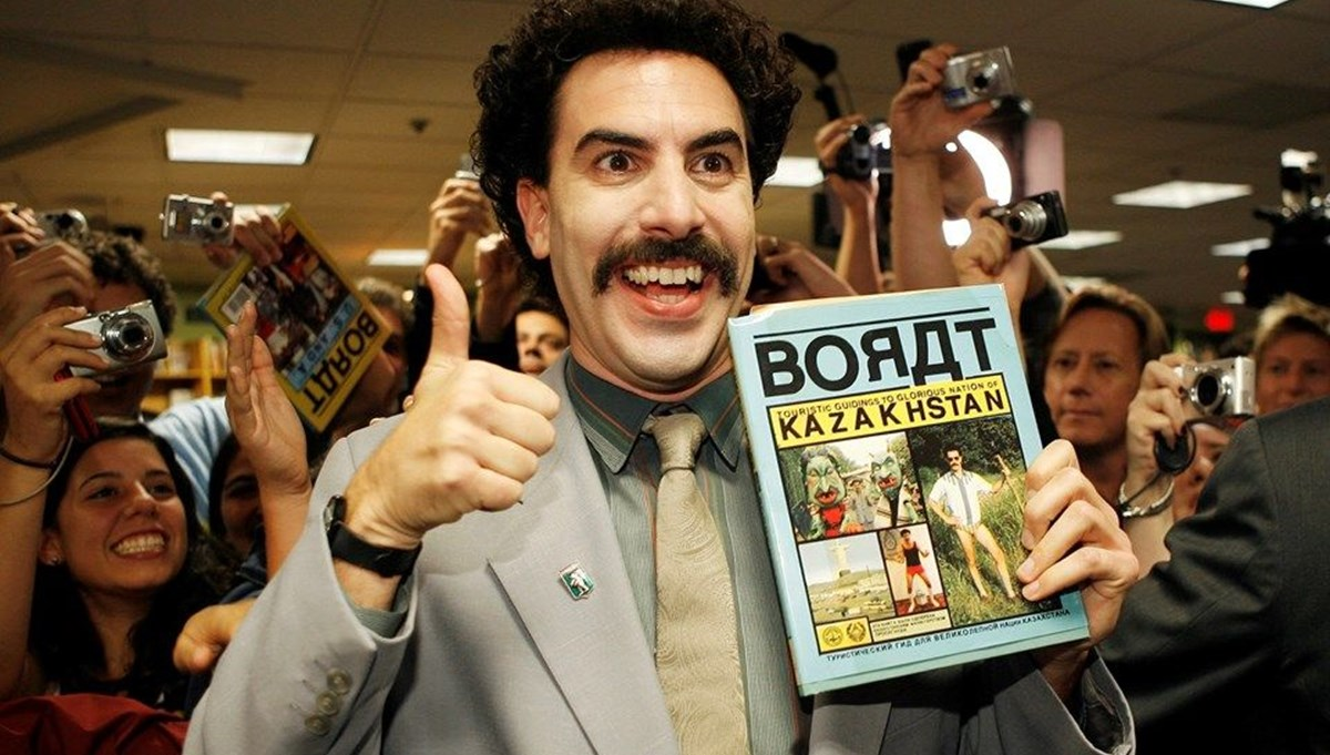 Sacha Baron Cohen, Borat fotoğrafını kullanan kenevir şirketine dava açtı