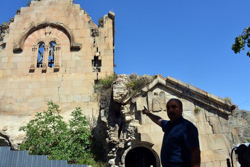 Öşvank Kilisesi'nin duvarlarındaki çatlaklar endişelendiriyor - 12