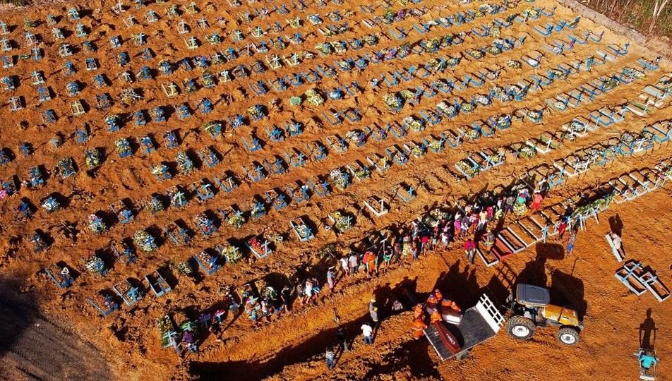 Brezilya'da günde 2 bin kişi ölüyor | NTV