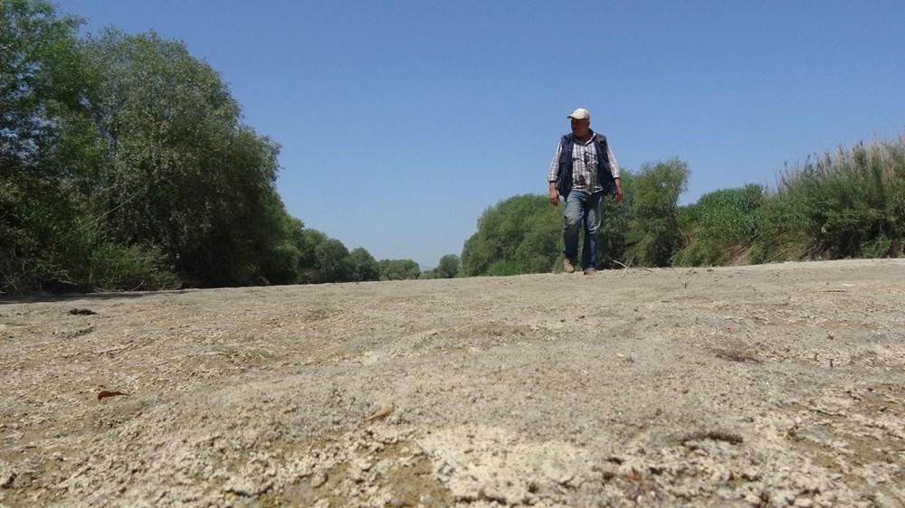 Büyük Menderes Nehri kurudu - 7