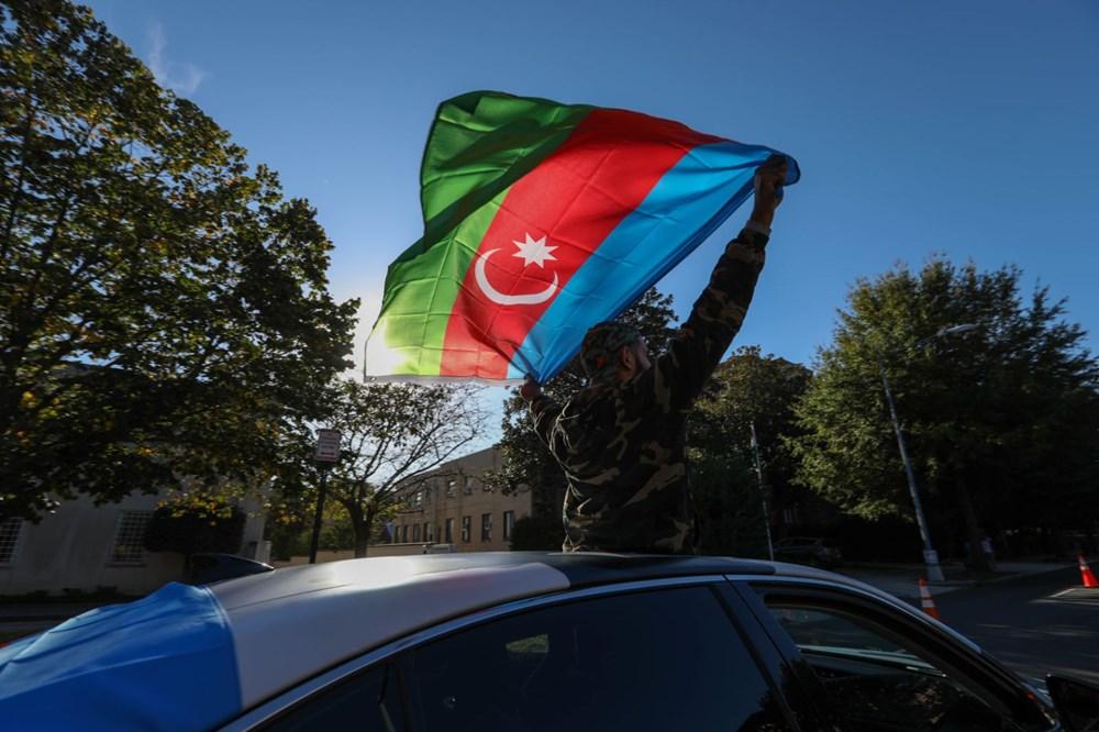 Beyaz Saray önünde Azerbaycan'a destek mitingi düzenlendi - 18