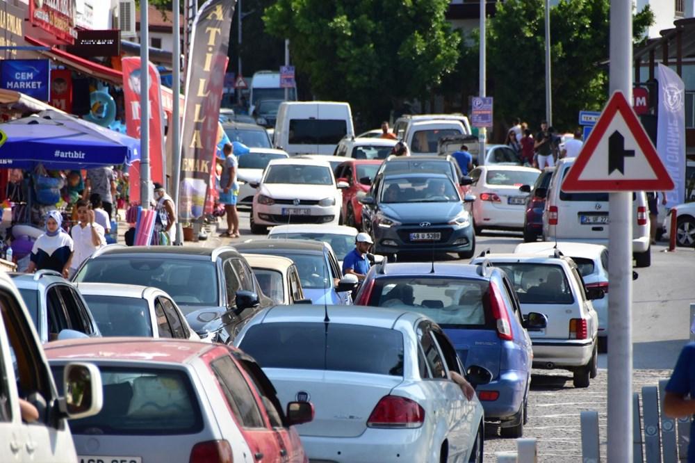 Sadece unvanı sakin şehir: Bayramda nüfusu 20 kat arttı - 7