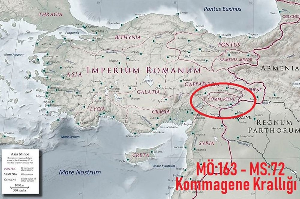 Kralların ve tanrıların taşlaştığı yer Nemrut | NTV