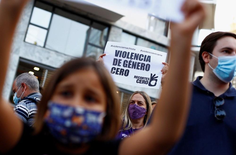 İspanya'yı sokağa döken cinayet: Bir ve altı yaşlarındaki iki kızını öldürüp okyanusa attı - 2