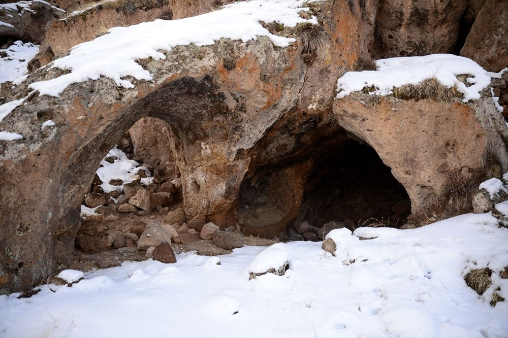Bitlis'te binlerce yıllık 400 mağara evin bulunduğu 'Madavans Vadisi' turizme kazandırılıyor - 11