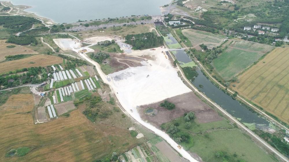 Kanal İstanbul'da temelin atılacağı nokta - 3