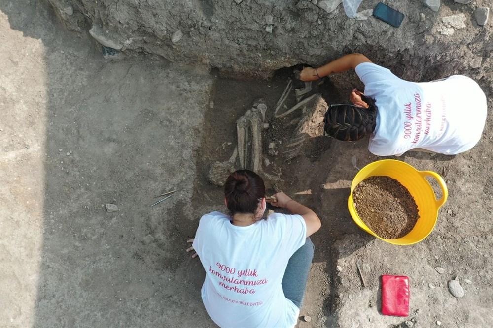 Bilecik'teki Batı Anadolu'nun en eski ergen iskeleti bulundu - 3