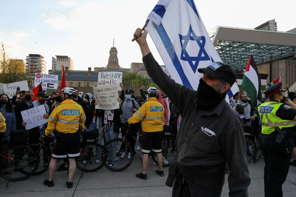 Israel's attacks on Palestinians were protested in Canada - 7