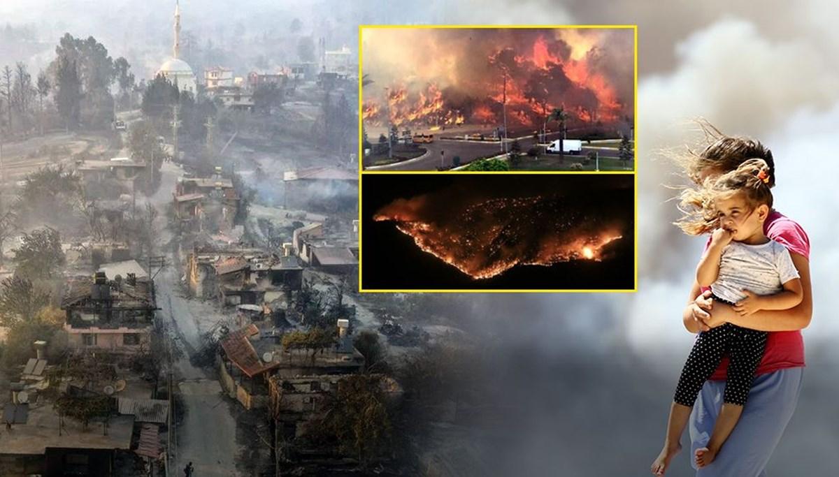 Manavgat yangınında 3 can kaybı