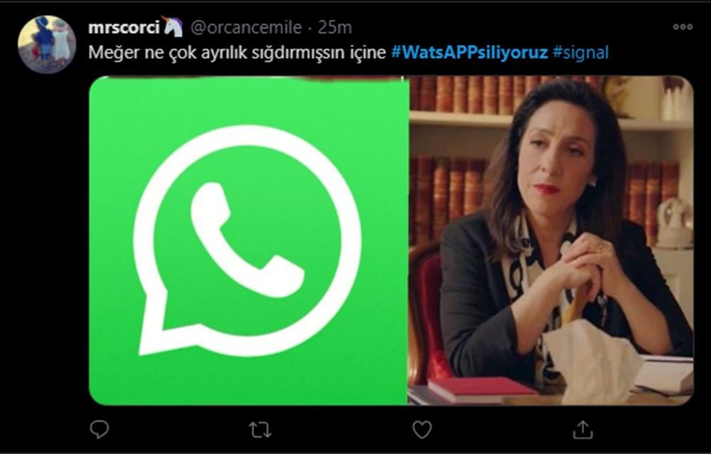 #WhatsAppSiliyoruz etiketine yapılan yorumlar güldürdü - 10
