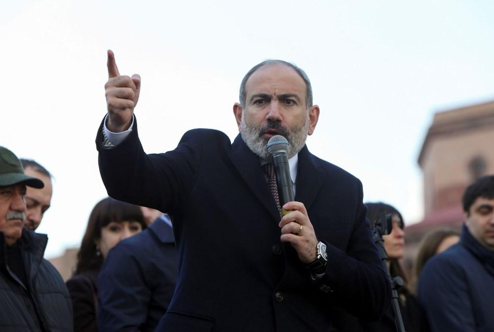 Ermenistan'da darbe girişimi: Paşinyan destekçileri ve karşıtları meydanlara çıktı - 5