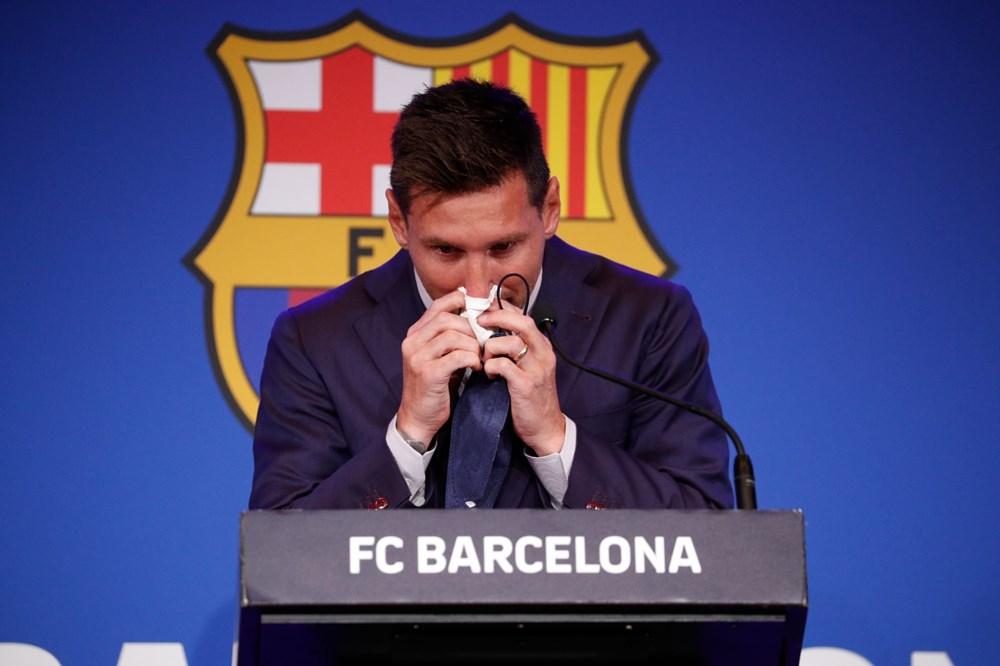 Bir devrin sonu: Lionel Messi, Barcelona'ya gözyaşları içinde veda etti - 8