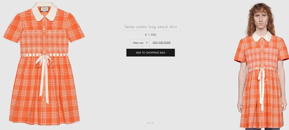 İtalyan moda devi Gucci'den 20 bin liralık elbise - 2