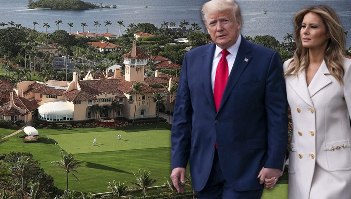 First Lady'nin Mar-a-Lago'da yaptığı yenilikler Trump'ı deli etti